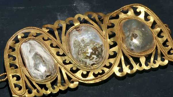 """Uno dei gioielli esposti alla mostra """"Venustas. Grazia e bellezza a Pompei"""""""
