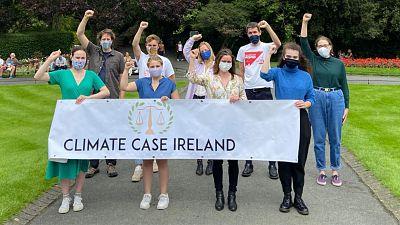 Climate Case Ireland campaigners.