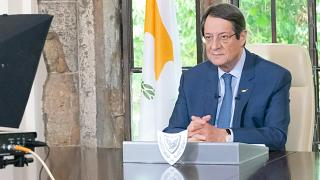 """Πρόεδρος Αναστασιάδης: """"Ο ιός παραμένει ανάμεσα μας - Να σεβαστούμε όλοι τις θυσίες που κάναμε"""""""