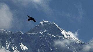 Vista del Everest desde Namche Bajar, Solukhumbu, Nepal 27/5/2019