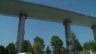 Il nuovo ponte San Giorgio a Genova