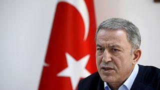 Der türkische Verteidigungsminister Hulusi Akar