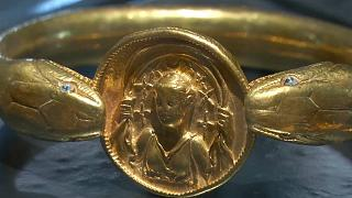 Золотой браслет веом в 610 г