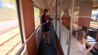 Dans le train regioJet