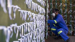 South Africa: Ribbons to remember COVID-19 victims