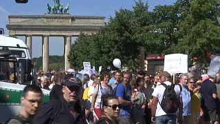 Germany virus protest