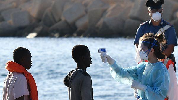 Ankunft auf Lampedusa