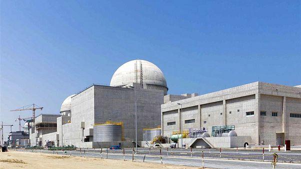 Az atomerőmű építés közben