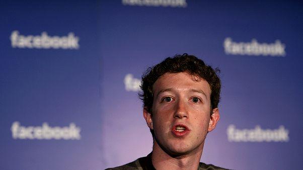 Facebook'un kurucusu ve CEO'su Mark Zuckerberg.