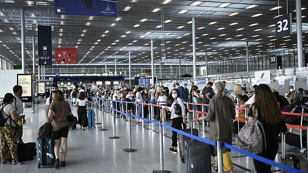 L'aéroport d'Orly en région parisienne, le 1er août 2020