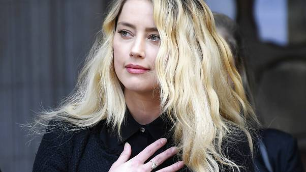 Amber Heard in London