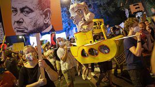 مظاهرات مناهضة لنتانياهو