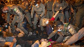 """Протесты в Израиле: """"Нетаньяху, уходи!"""""""