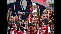 Le Gabonais Aubameyang offre la Cup à Arsenal