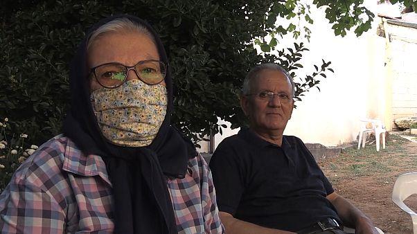 Covid 19'u yenen Mustafa Ali Tepeeri ve eşi Kamile Tepeeri