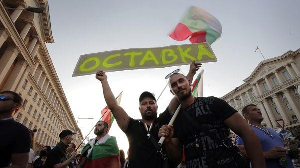 Miles de búlgaros reclaman por vigesimocuarto día la dimisión de su primer ministro