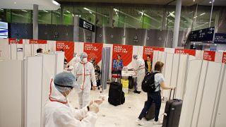 Центр тестирования в аэропорту Париж - Шарль-де-Голль