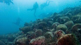 نخستین موزه زیر آب با اشیاء ۲۵۰۰ ساله در یونان افتتاح شد