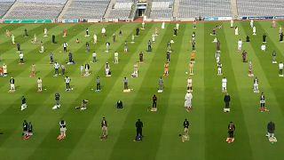 İrlanda'nın başkenti Dublin'in en büyük stadyumu Croke Park.