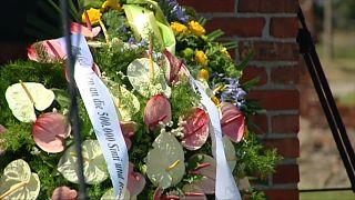 Gedenkveranstaltung in Auschwitz Birkenau