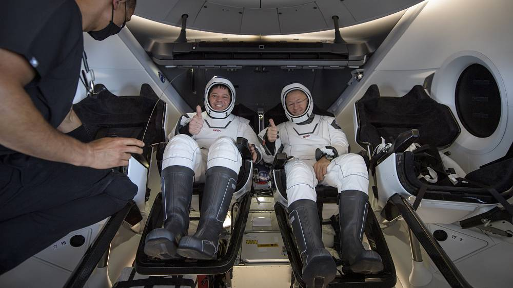 NASA astronauts splash down to Earth on SpaceX capsule after historic mission