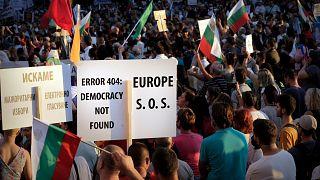 تظاهرات در بلغارستان