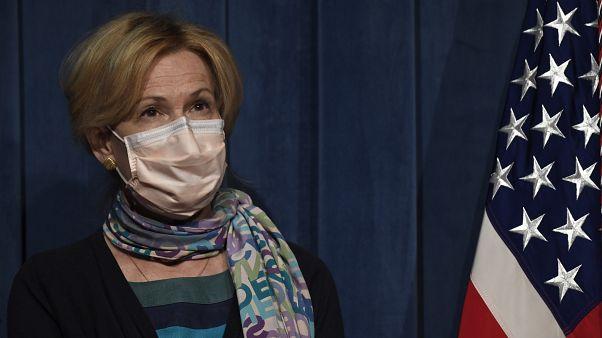 الدكتورة ديبورا بيركس، مستشارة البيت الأبيض الأمريكي