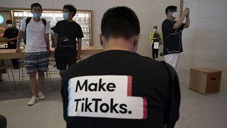 """الصين: ما تفعله واشنطن في قضية """"تيك توك"""" يتعارض مع مبادئ منظمة التجارة العالمية"""