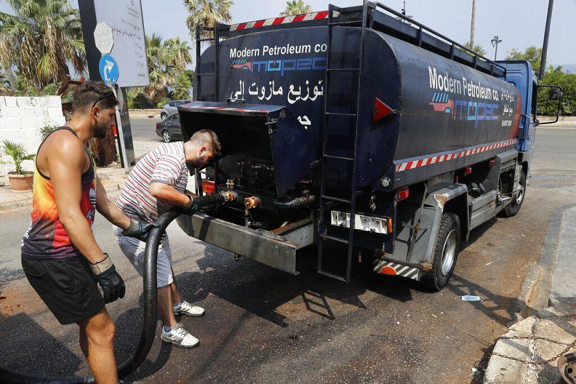 Hussein Malla/AP, Bejrút, 2020. július 29.