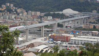 The new bridge in Genoa