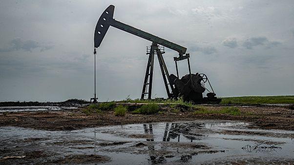 Suriye'de bir petrol kuyusu