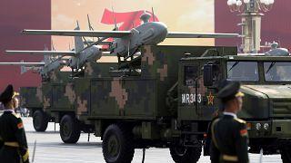 رژهٔ نیروهای چین در هفتادمین سالگرد تأسیس حزب کمونیست