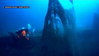 Großreinemachen unter Wasser