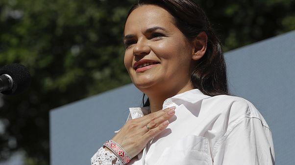 экс-кандидат в президенты РБ Светлана Тихановская