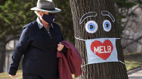 Melbourne im Lockdown