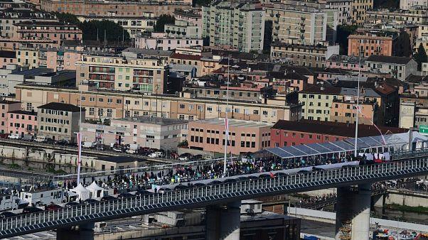 Inaugurazione del ponte San Giorgio - Genova