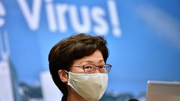 الرئيسة التنفيذية لهونغ كونغ