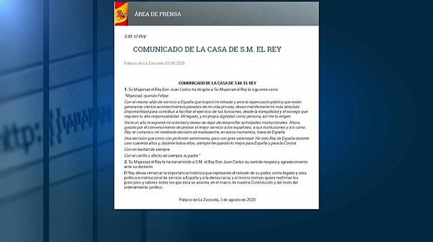 Carta de Juan Carlos I