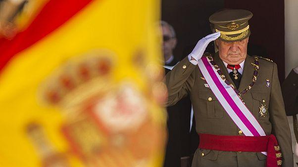 Ex-König Juan Carlos im Jahr 2014