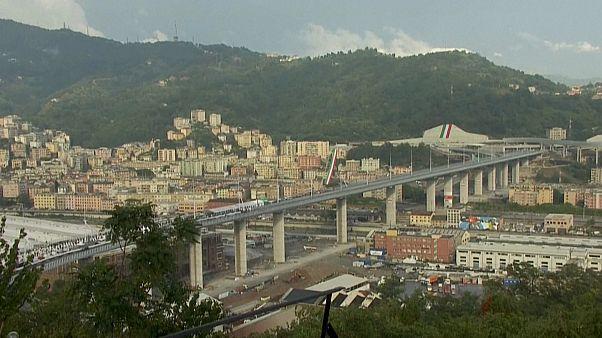شاهد: في حفل ضخم.. إيطاليا تعيد افتتاح جسر جنوة السريع بعد عامين على انهياره