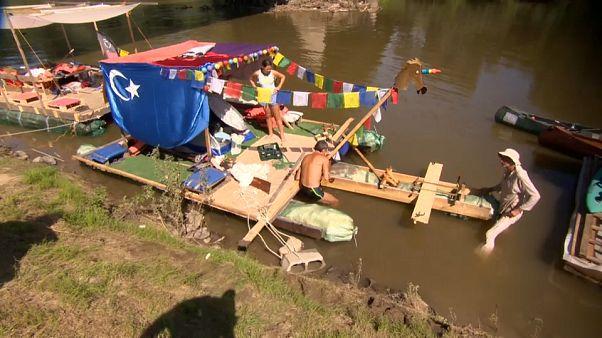 La regata en Ucrania