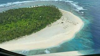 L'île de Pikelot, dans un archipel de Micronésie