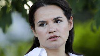 المرشحة المعارضة سفيتلانا تيخانوفسكايا