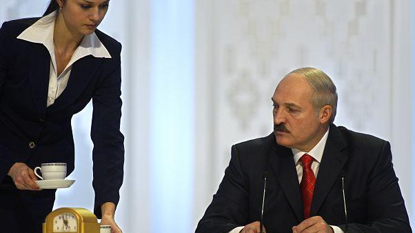 FILE: Alexander Lukashenko in the capital, Minsk, Dec. 20, 2010.