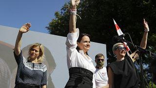 """""""Любим! Верим! Победим!"""" - митинг в поддержку Светланы Тихановской в Барановичах"""