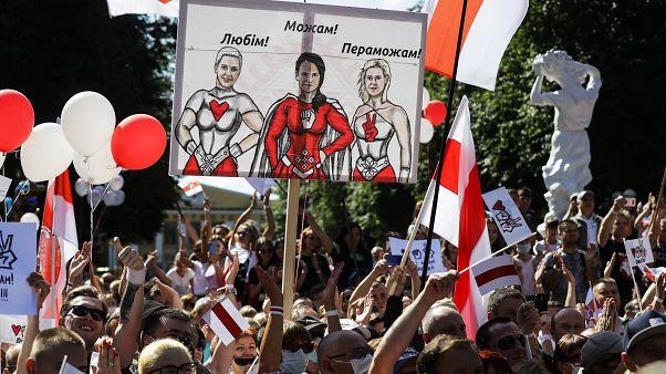 Erős fehérorosz ellenzéki jelölt