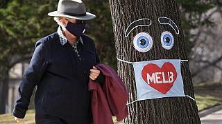 Confinamiento en Melbourne