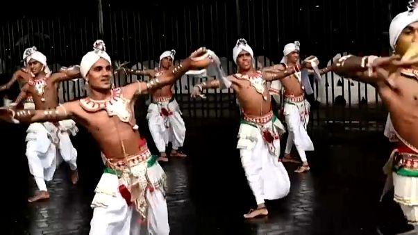 Un festival bouddhiste a été organisé sans spectateurs au Sri Lanka
