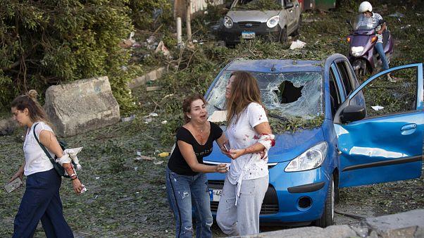 Nach den Explosionen in Beirut