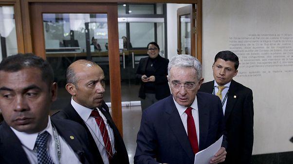 El expresidente de Colombia, Álvaro Uribe